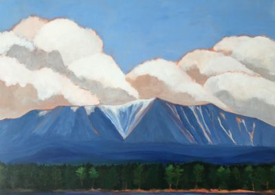 Clouds over Katahdin